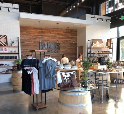 Makers Market store in Napa, California