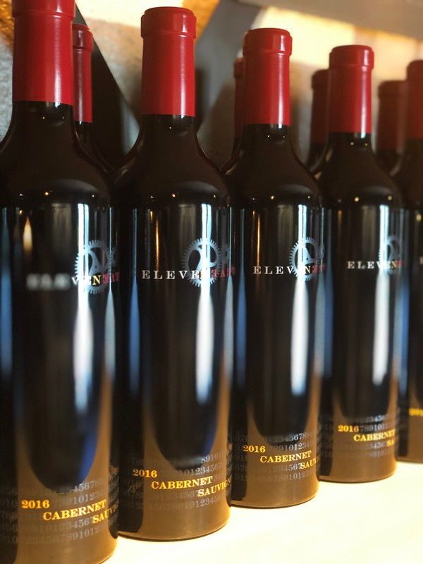 Laki's Estate Vineyard Cabernet Vertical